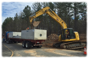 emergency line repairs N.C., Storm Drainage lines installation